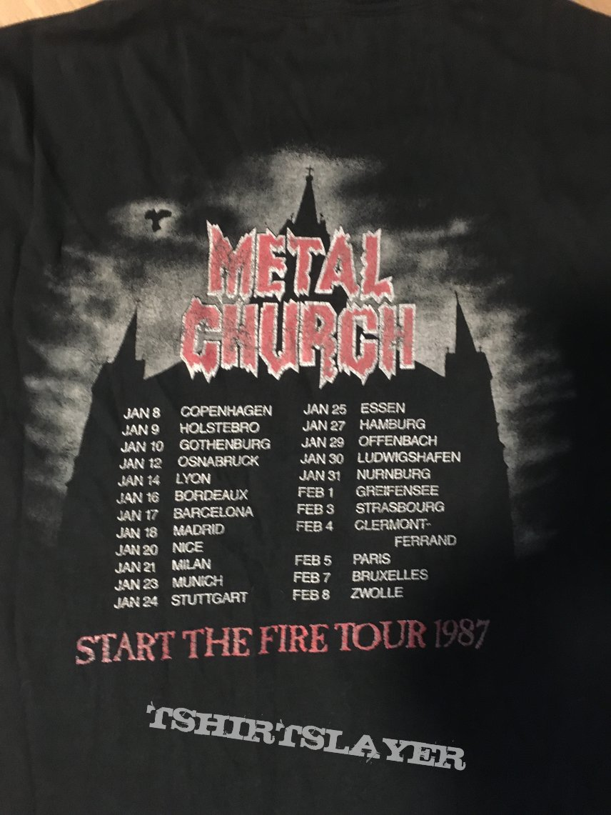 "Metal Church - ""Start the Fire""-Tourshirt"