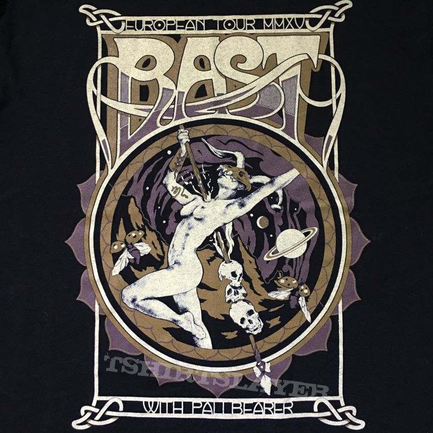 "Bast ""The Wanderer (Pallbearer Tour)"" t-shirt"