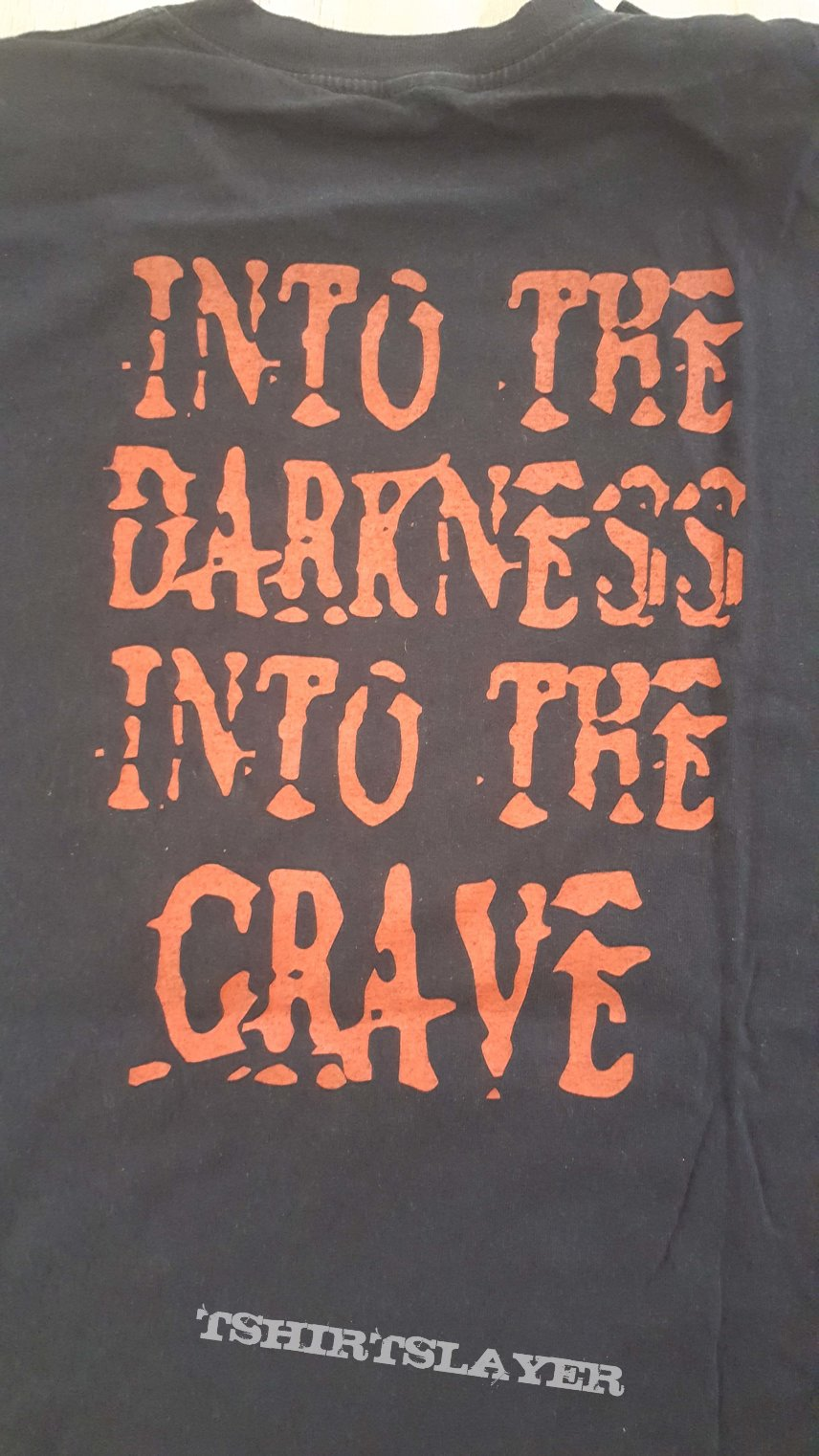 SOLD - Grave  - Into the Grave TS, XL, 1991