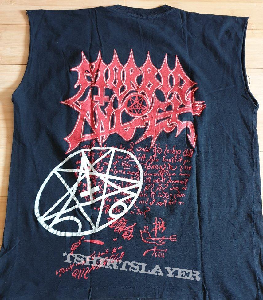 Morbid Angel - Altars/Covenant all over print - rare - bootleg 1993 - Sleeveless TS L