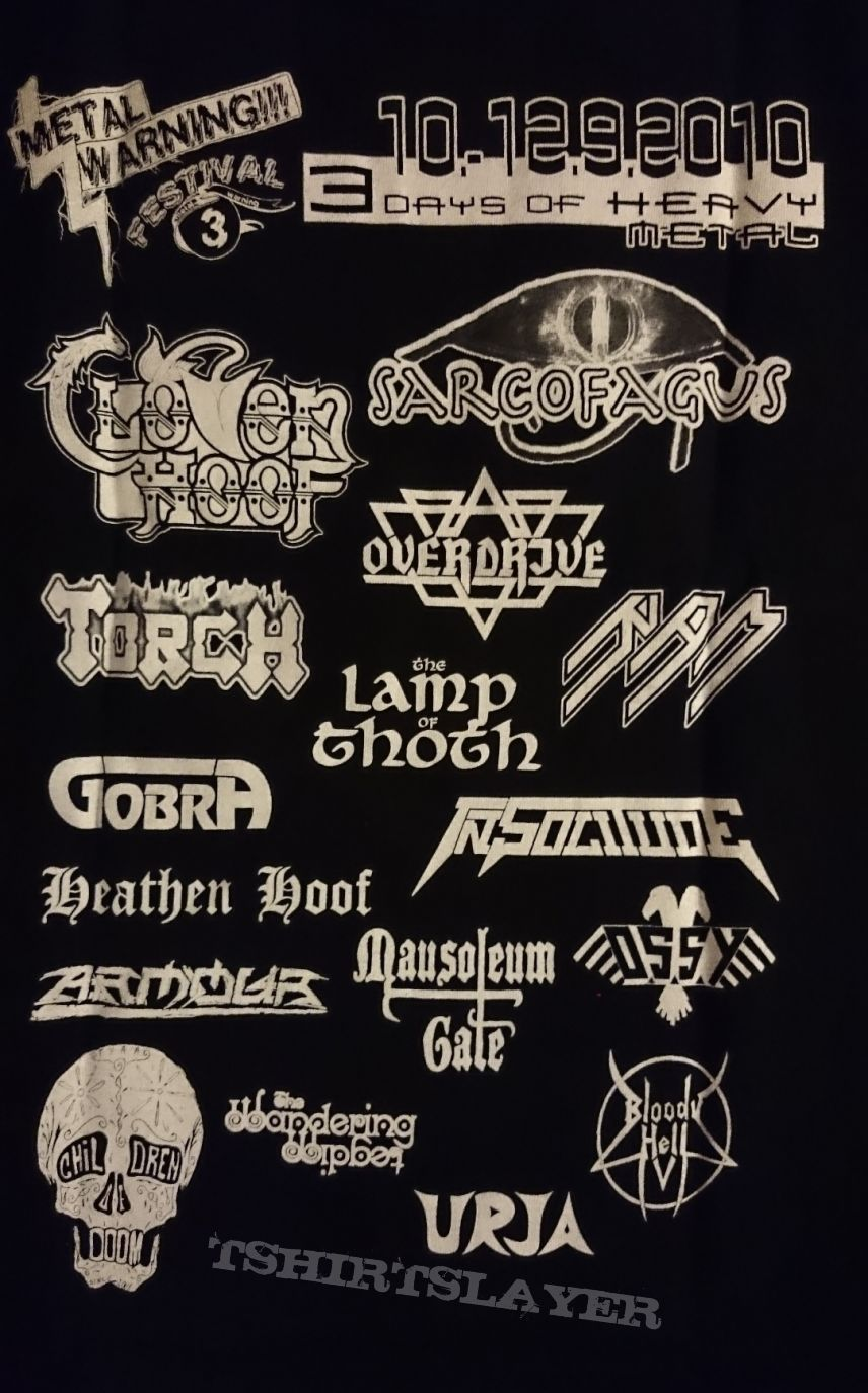 Metal Warning shirt