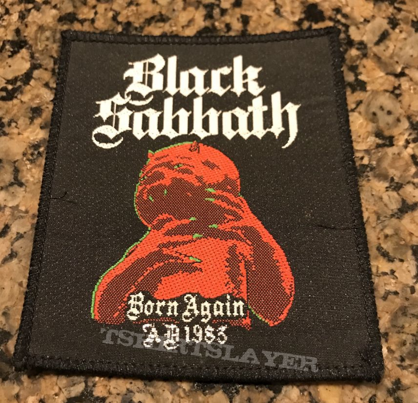 Born Again Patch