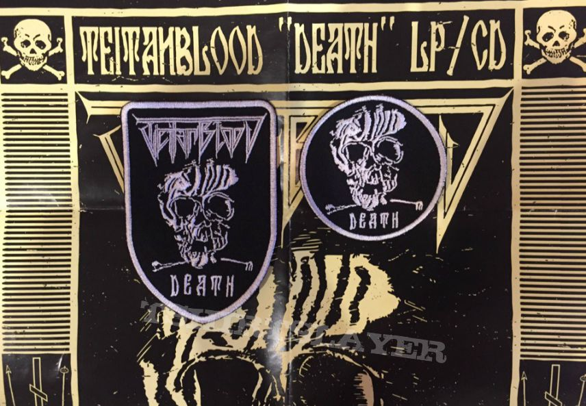 "Teitanblood ""Death"" embroidered bootleg Patches"