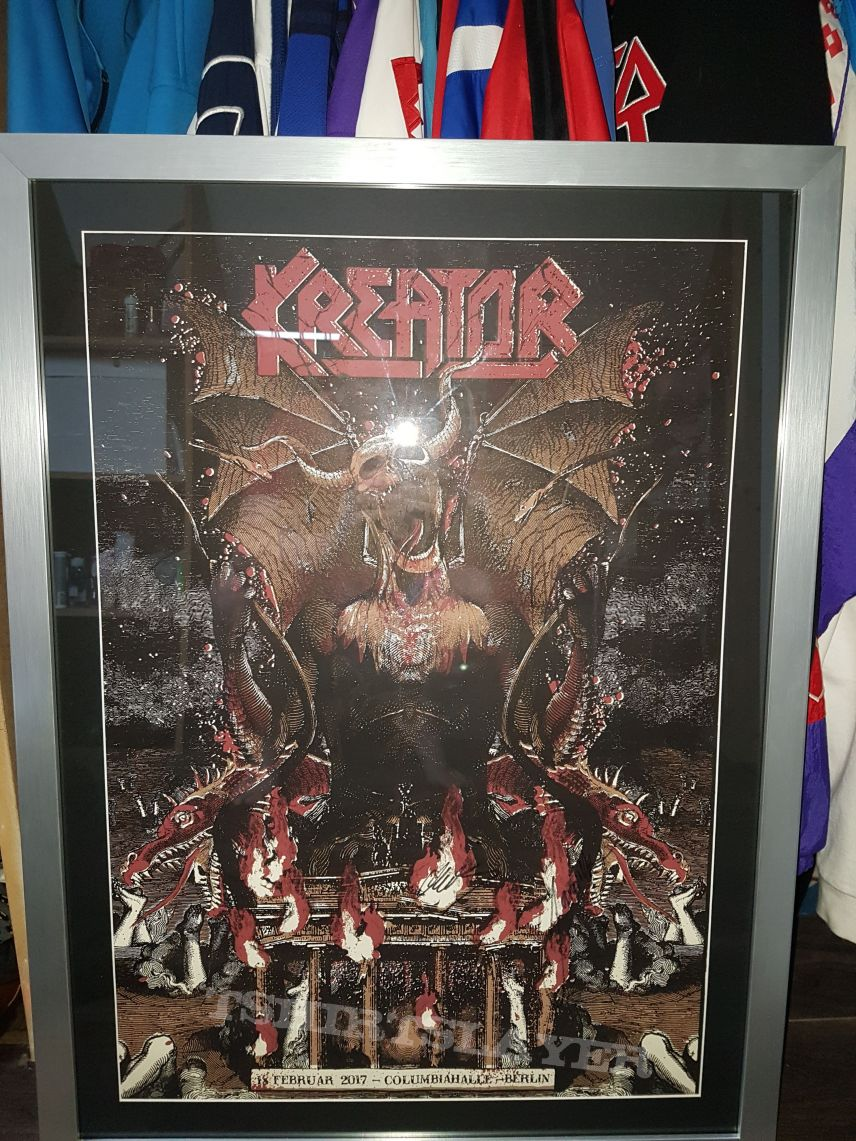 Signed poster very rare