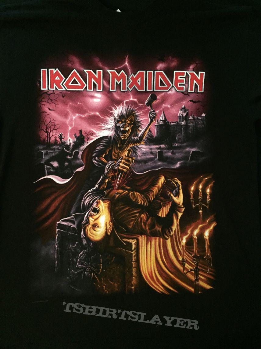 Iron Maiden - Transylvania 2010 event shirt