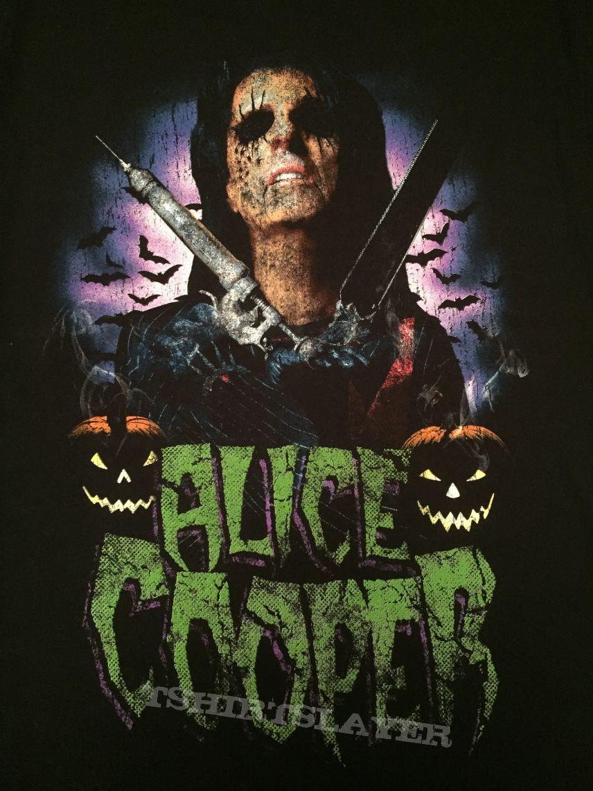 alice cooper halloween 2008 event shirt