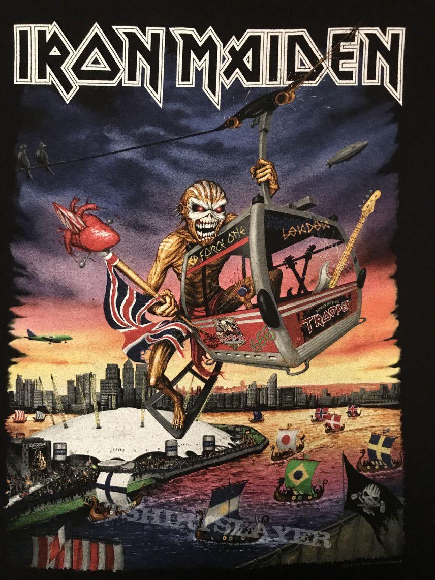 Iron Maiden - London 2017 event shirt