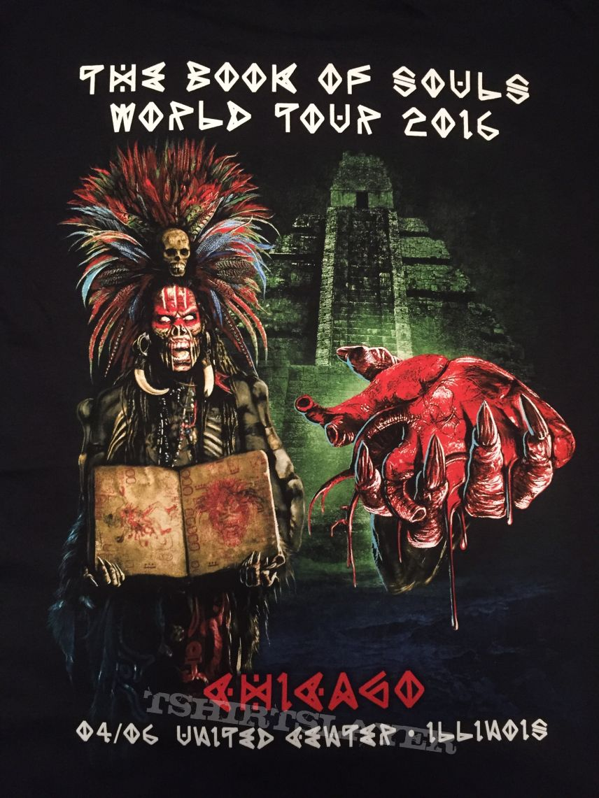 Iron Maiden - Chicago 2016 event shirt