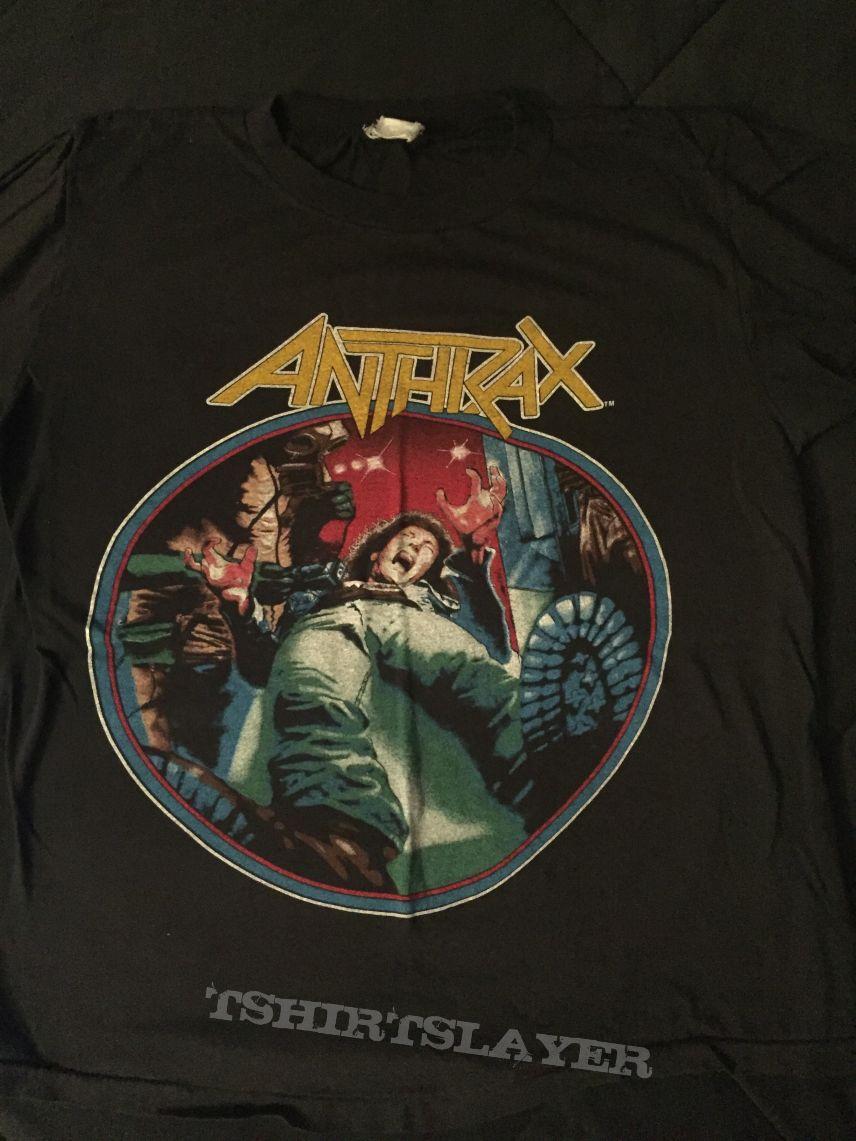 Anthrax - Spreading The Disease tour shirt