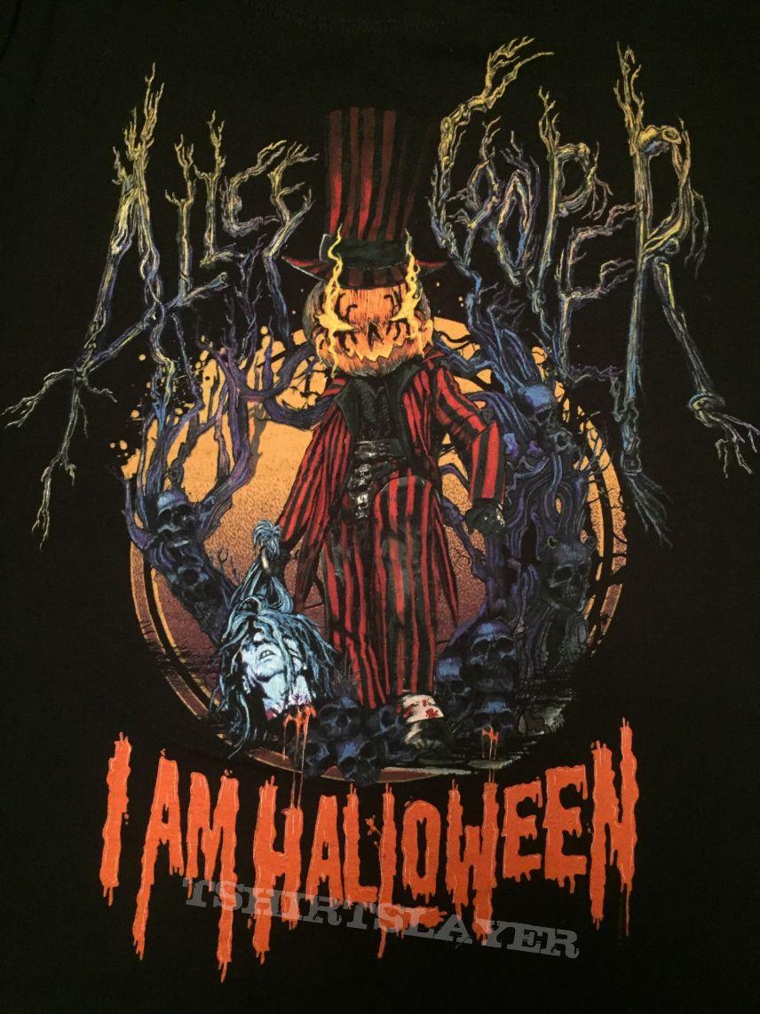 alice cooper halloween 2014 event shirt