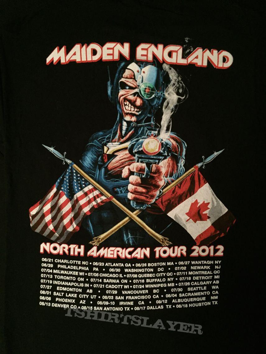 437cb796cc Iron Maiden - Maiden England 2012 tour shirt