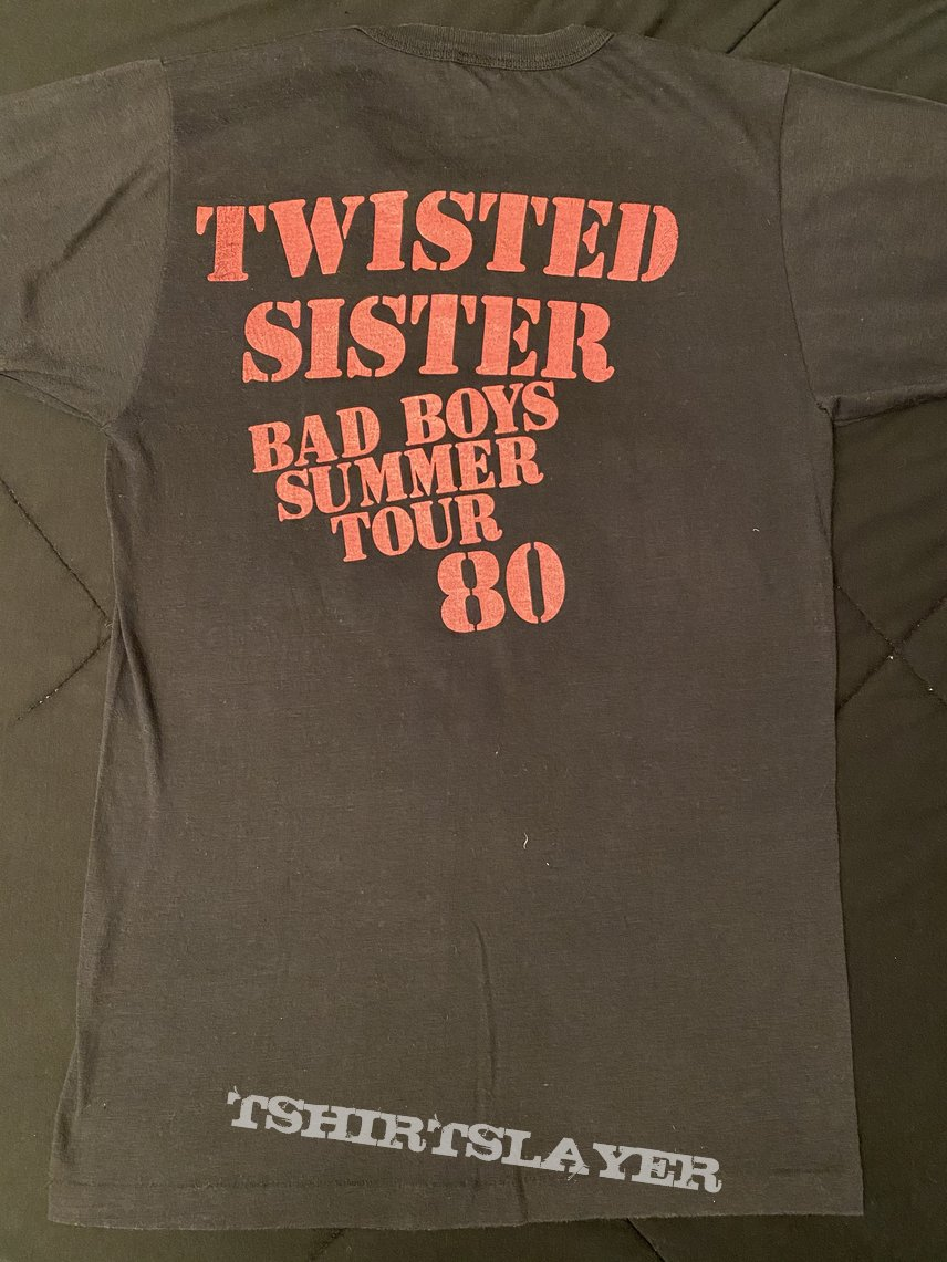 Twisted Sister - Bad Boys Summer Tour 1980 shirt