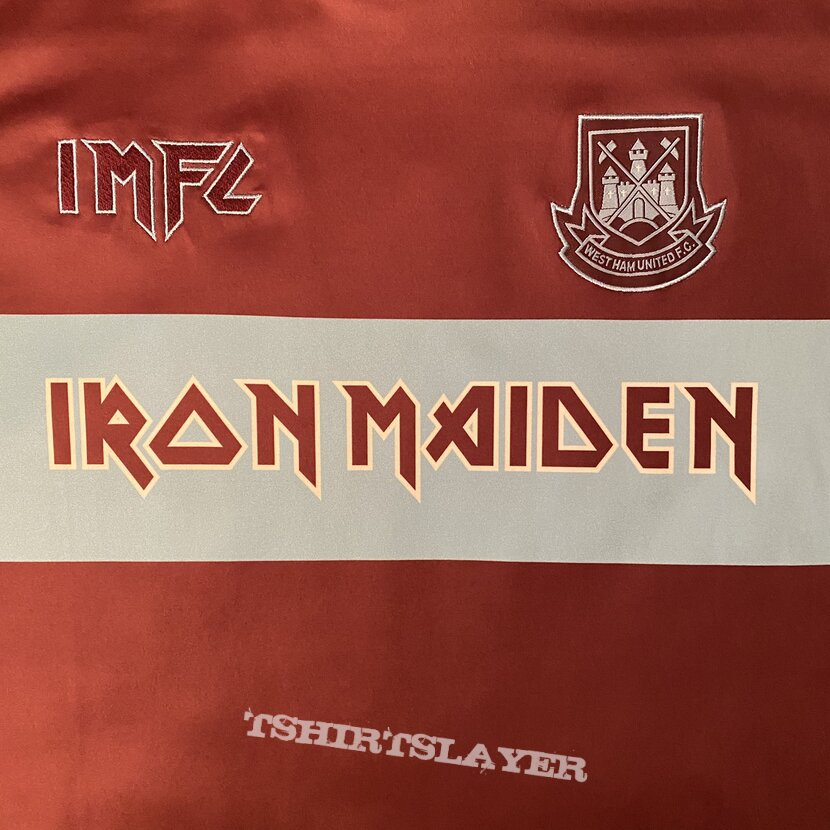Iron Maiden - West Ham United Collaboration Football Kit