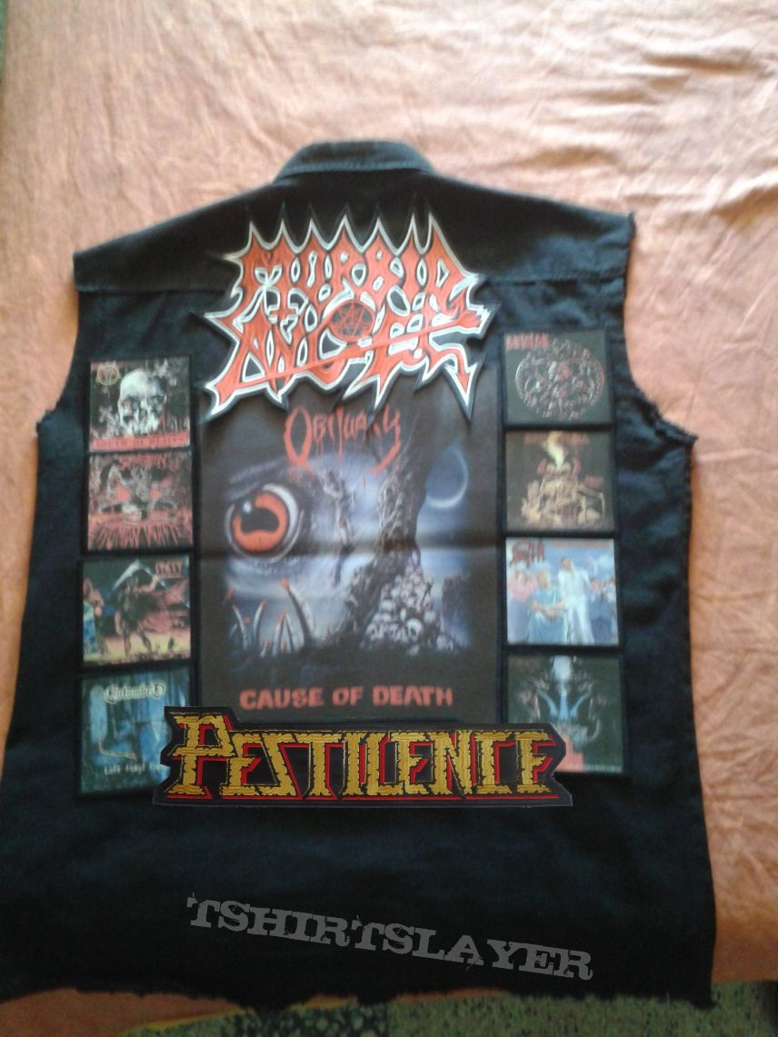 The back of my vest
