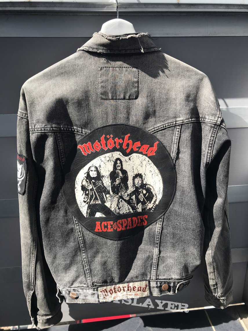 Motörhead jacket with handpainted BP update