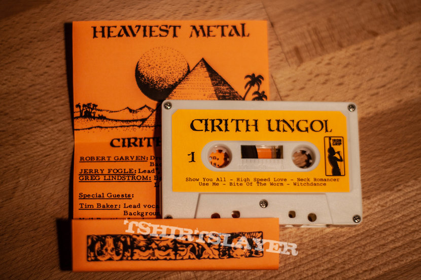 Cirith Ungol - The Orange Album cassette with shirt bundle (Official)