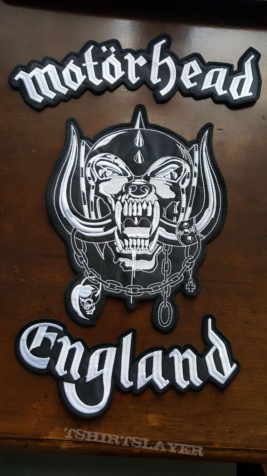 Motörhead England - 3 Piece Backpatch