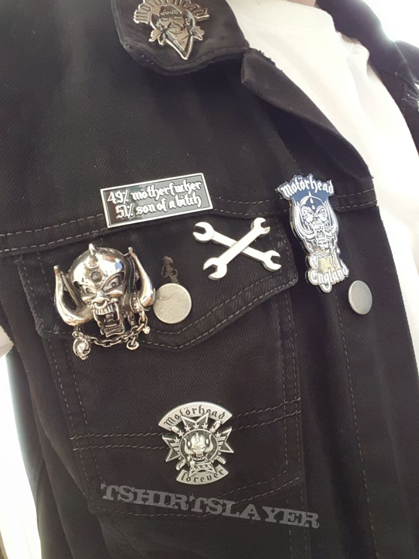 Motörhead Lemmy 49% 51% metal pin