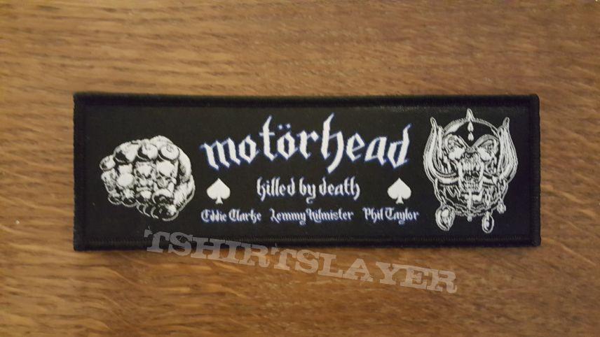 Motörhead - Killed by Death three Amigos patch