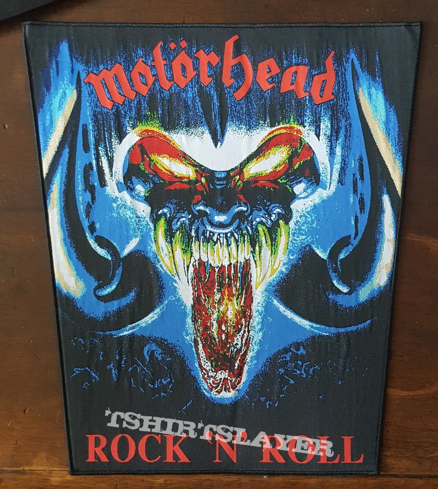 Motörhead - Rock n Roll Backpatch