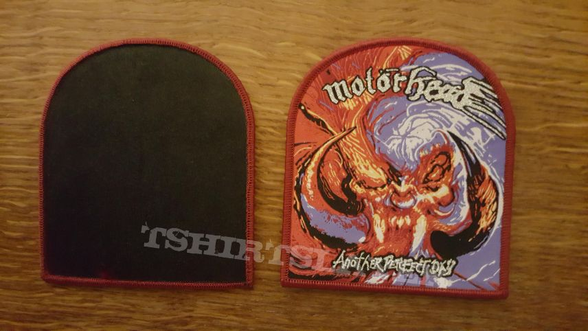 Motörhead - Another perfect day patch - burgundy border