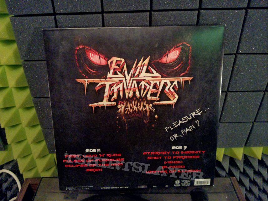 Evil Invaders – Pulses Of Pleasure (LP, ltd, signed)