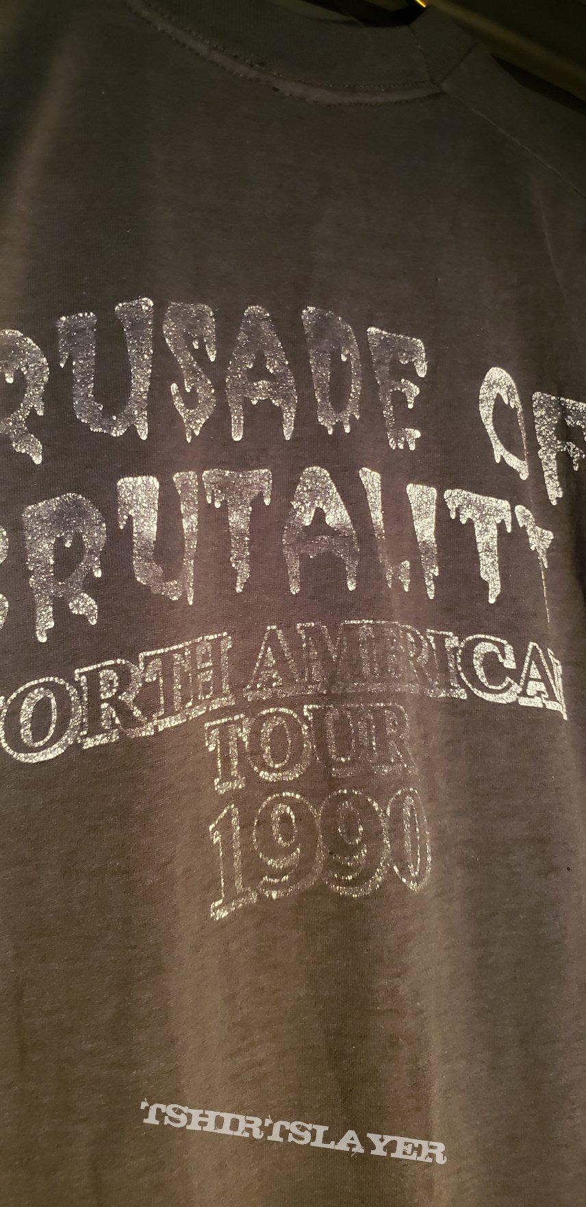 Death - 1990 Crusade of Brutality Tour