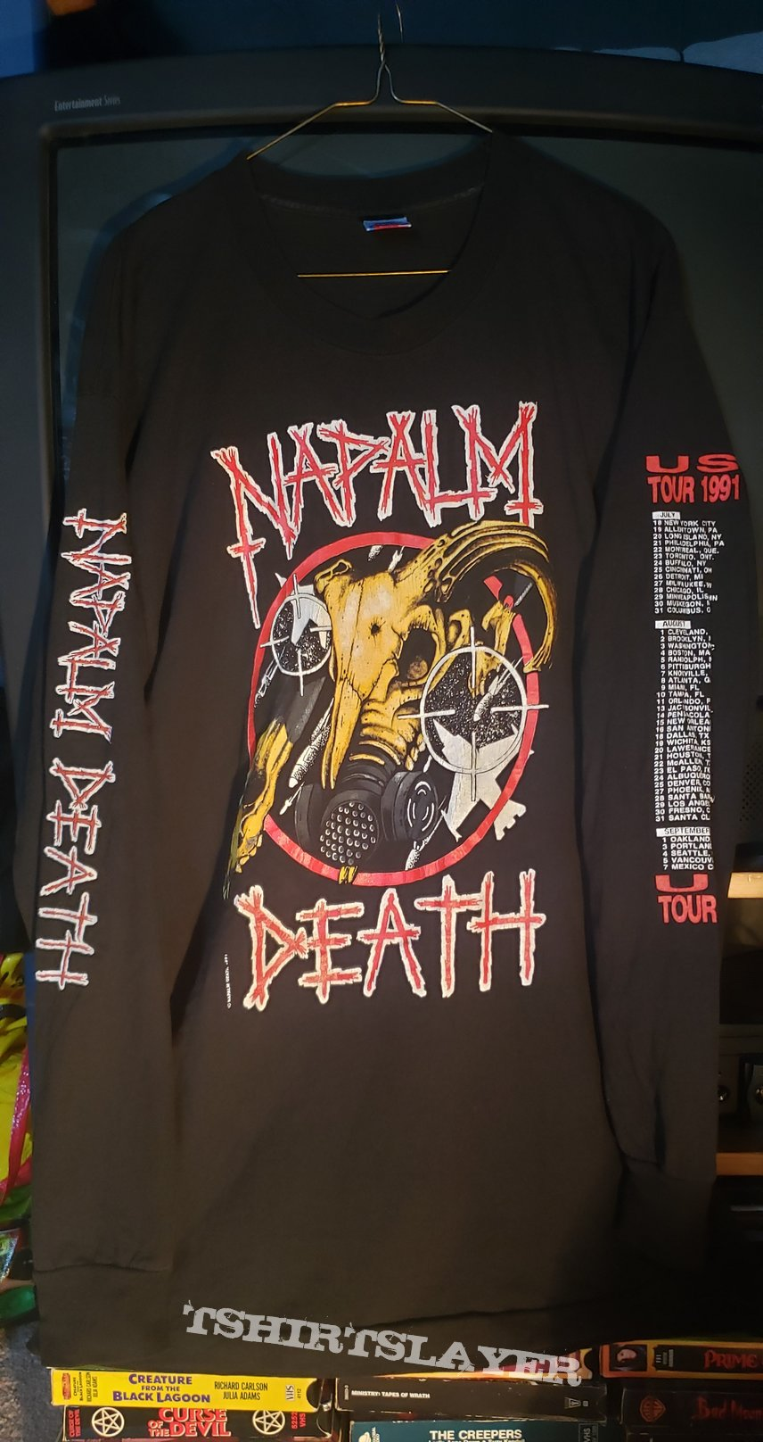 Napalm Death - 1991 Tour
