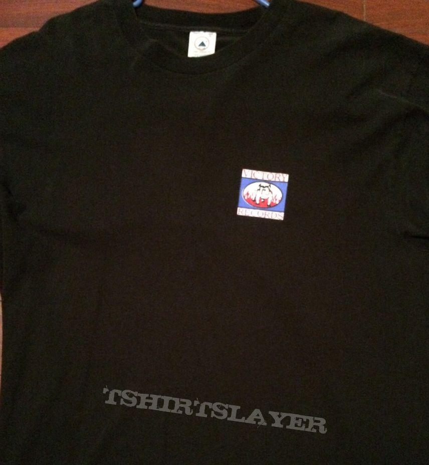 99de2960 Hatebreed- Victory Records/Satisfaction is the death of desire shirt ...