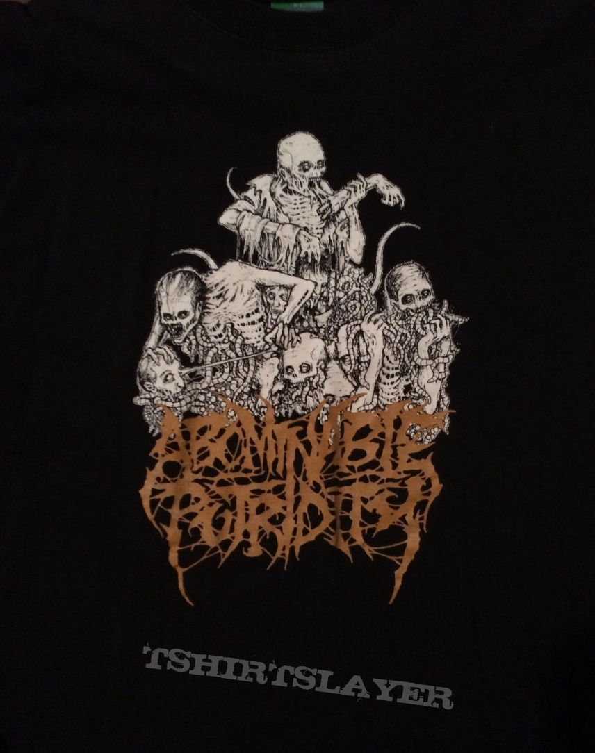 Abominable Putridity-Mark Riddick Art shirt