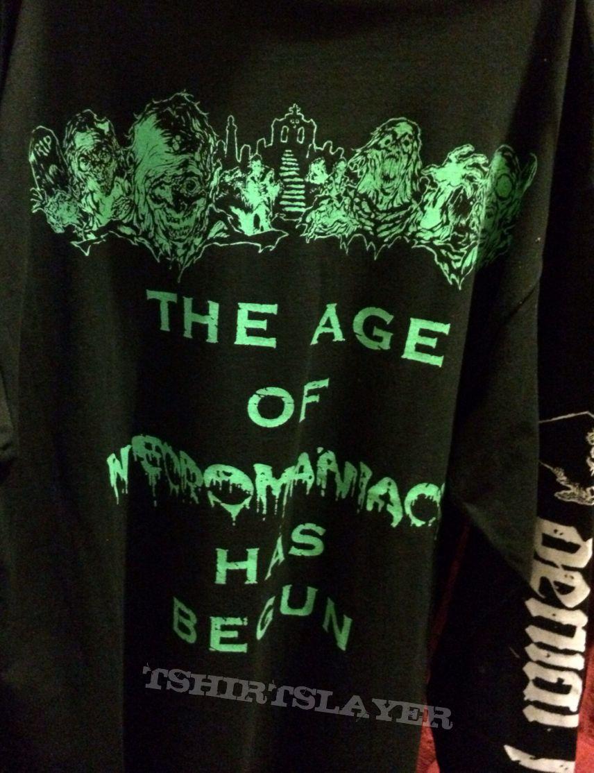Denial Fiend - The Age Of Necromancy Has Begun (Logo Long sleeve)