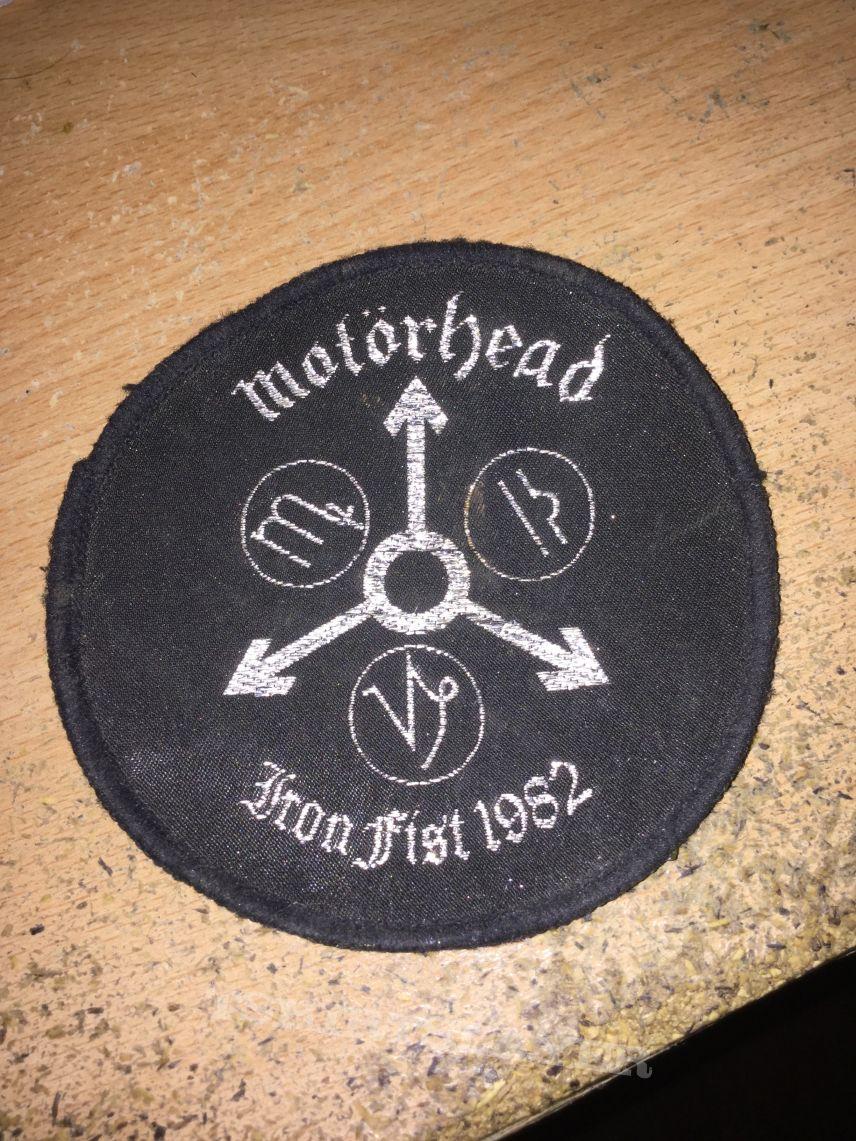 patch motorhead  iron fist 1982