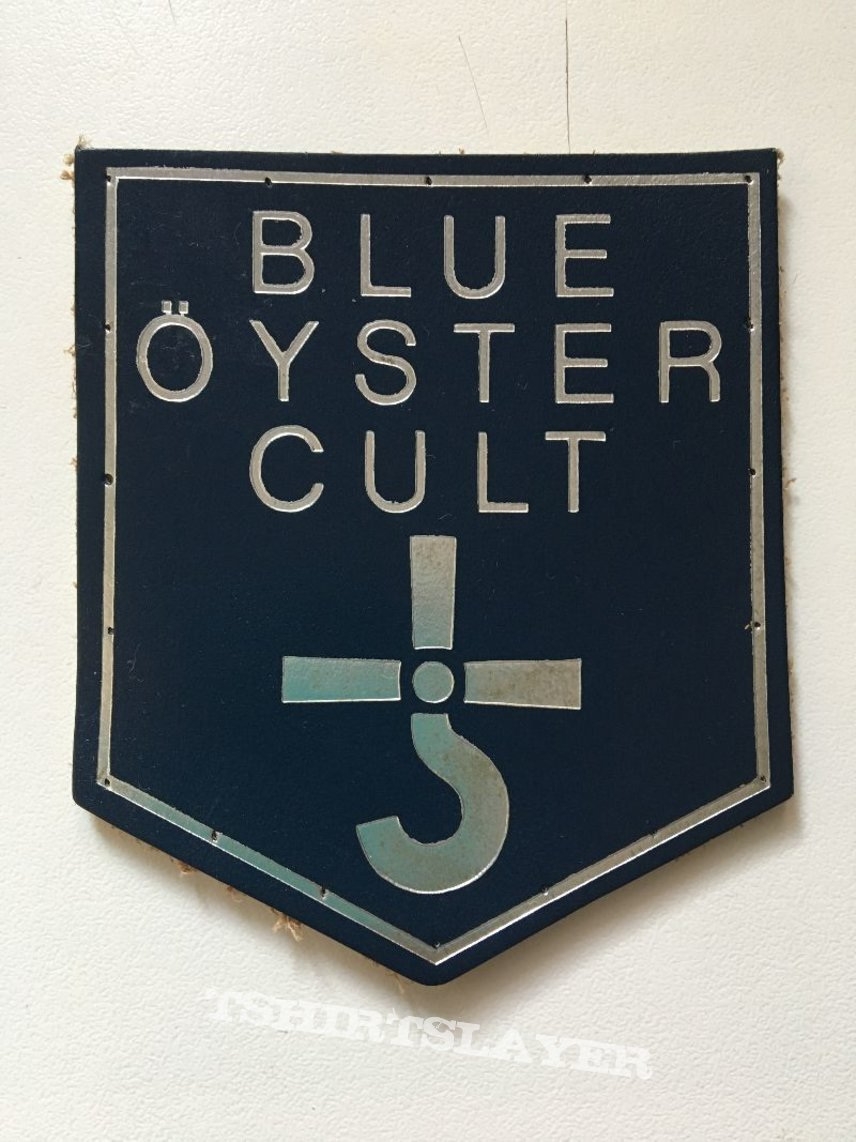 tres rare patch cuire  blue oyster cult