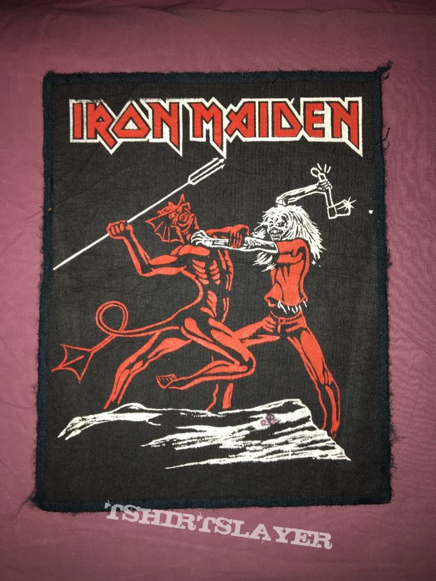 rare  patch Iron Maiden - Run To The Hills collection