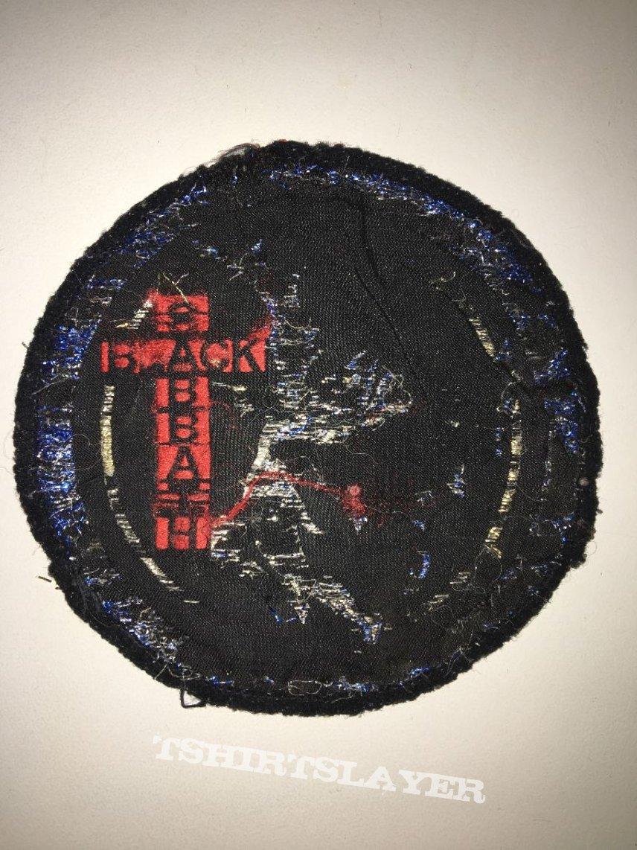 vintage patch black sabbath
