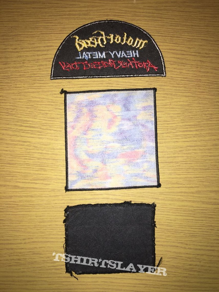 collection ultra rare patch motorhead another perfect day