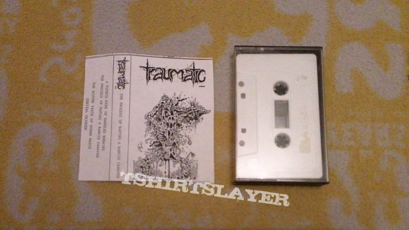 "Traumatic - demo '90 & 7"" EP '91"