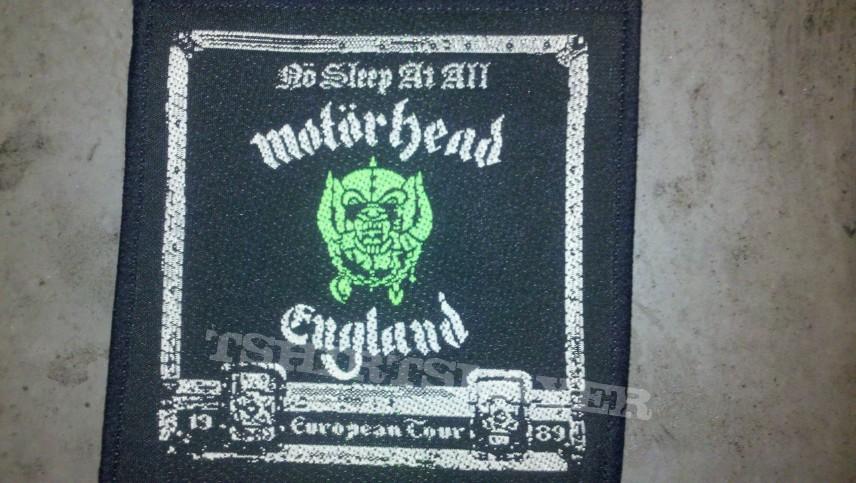iambadcompany's Motörhead, Motorhead no sleep at all 1989