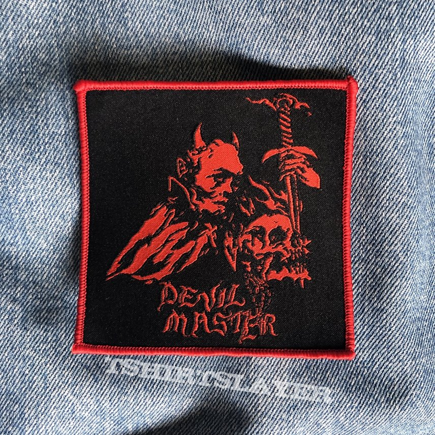 Devil Master woven patch | TShirtSlayer TShirt and