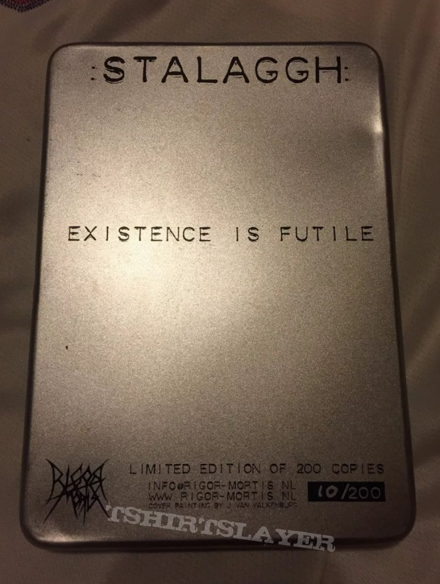 Stalaggh - Projekt Terror - Limited Metal Case