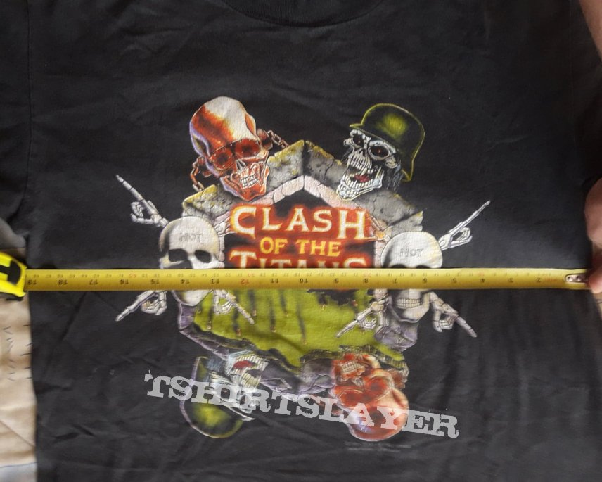 Clash of the Titans 1991 short sleeve by Brockum.
