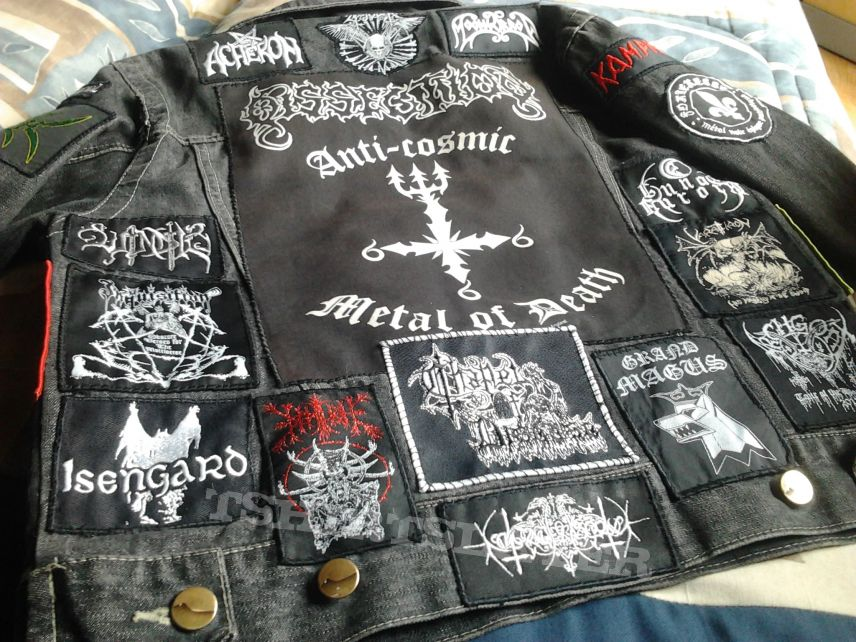 My battle jacket, almost done.