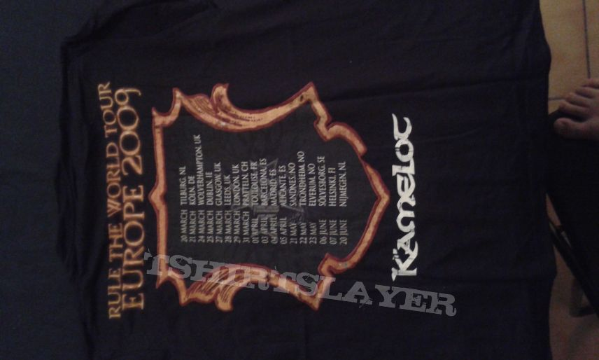 Tee Shirt Kamelot 2009 Tour