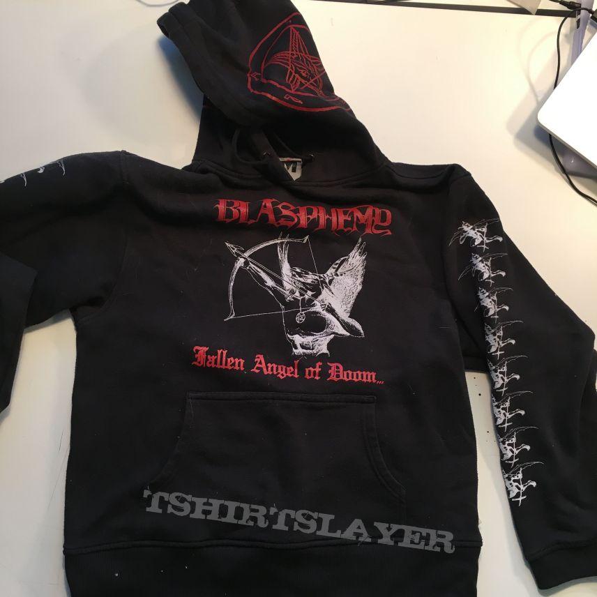 blasphemy fallen angel of doom     hoodie
