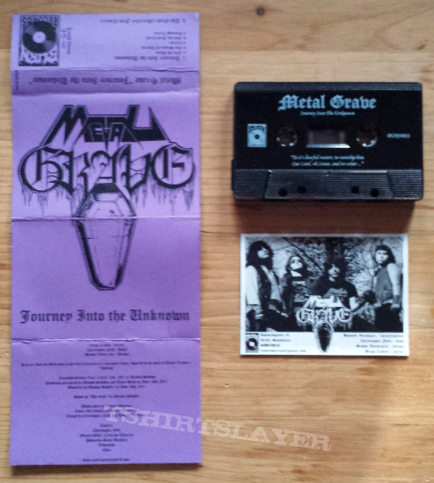Metal Grave - Journey into the Unknown Demo Tape