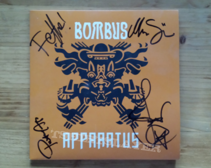 "Bombus - Apparatus 7"" vinyl single"