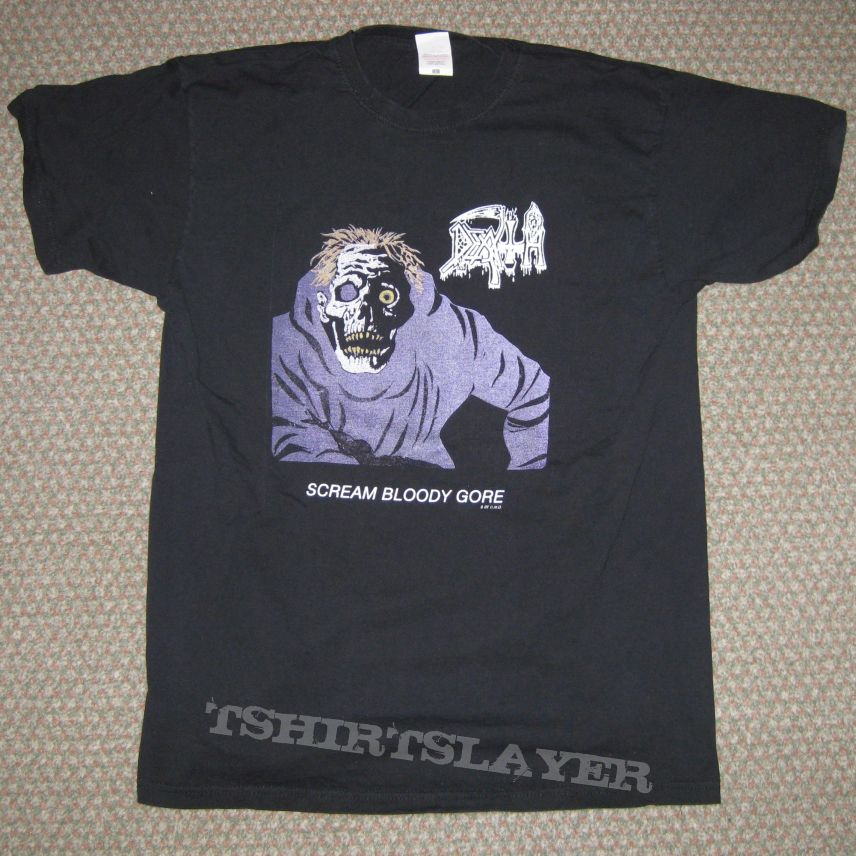 Death - Scream Bloody Gore Bootleg Shirt