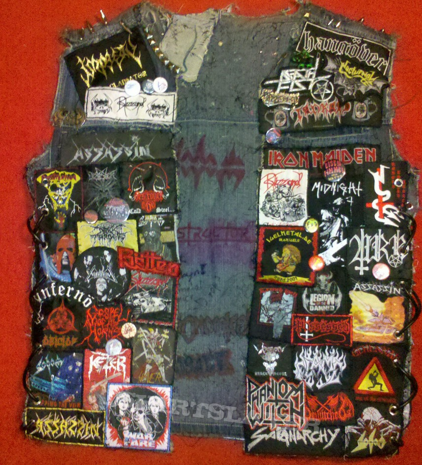 Battle Jacket - Kutte with laced sides (better pictures)