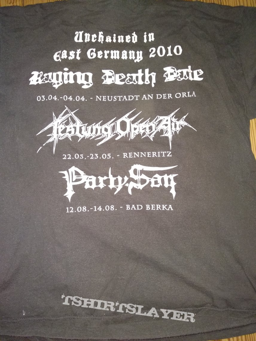Ketzer - Unchained in East Germany 2010 Shirt