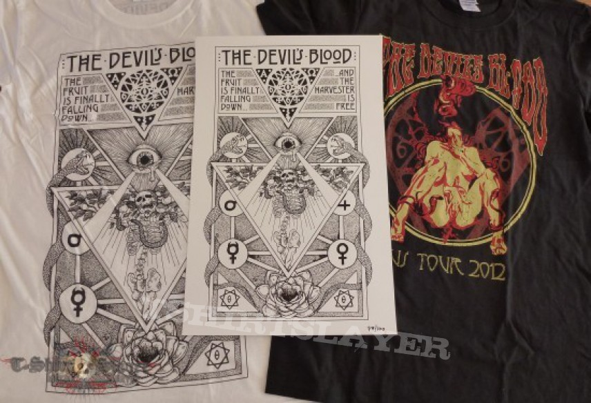 TShirt or Longsleeve - The Devil's Blood USA merch